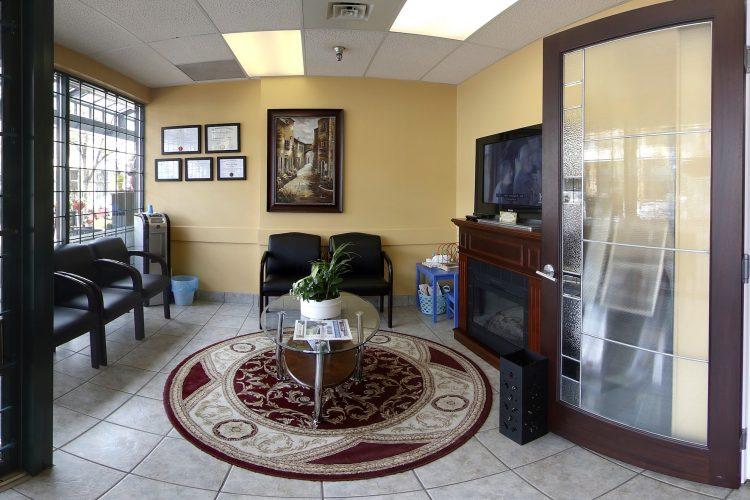 Office entrance Norburn Dental Centre dentist burnaby